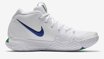 Nike Kyrie 4 White/Deep Royal Blue