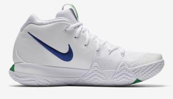 Nike Kyrie 4 White/Deep Royal Blue