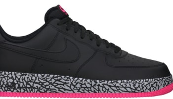 Nike Air Force 1 Low Black/Black-Hyper Pink-Wolf Grey