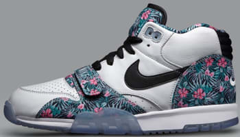 Nike Air Trainer 1 Mid Premium PB White/Black-Perfect Pink