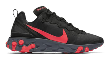 Nike React Element 55 Black/Solar Red/Cool Grey