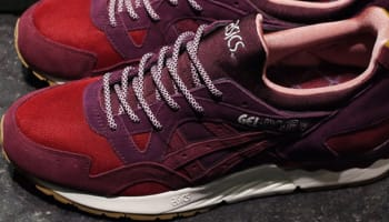 Asics Gel-Lyte V Deep Purple/Red-Maroon