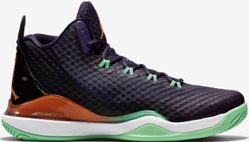 Jordan Super.Fly 3 PO Ink/Bright Mandarin-Poison Green-Black-White