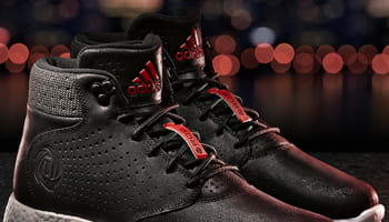 adidas D Rose Lakeshore Boost Black/Scarlet-White