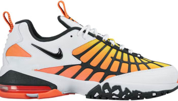 Nike Air Max 120 White/Hyper Orange-Opti Yellow-Black