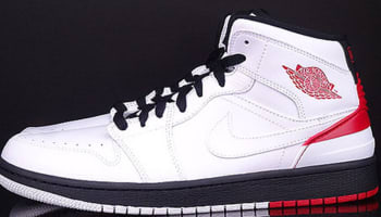 Air Jordan 1 Retro '86 White/Gym Red-Black