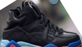 Pink Dolphin x Fila The Cage Black