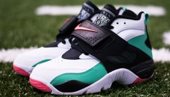 Nike Air Diamond Turf Gamma Green/Atomic Red-White-Black