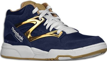 Reebok Pump Omni Lite Athletic Navy/Brass-White