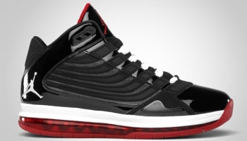 Jordan Big Ups Black/White-Varsity Red
