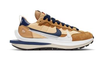 Sacai x Nike VaporWaffle Sesame/Blue Void