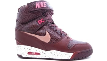 Nike Air Revolution Sky Hi Women's FW QS Barkroot Brown/Metallic Red Bronze-White