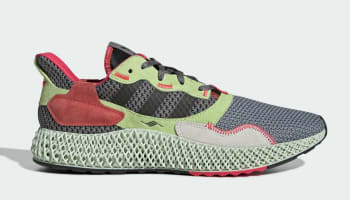 Adidas ZX 4000 4D Grey Three/Core Black/Hi-Res Yellow