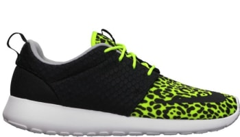 Nike Roshe Run FB Volt/Black-White