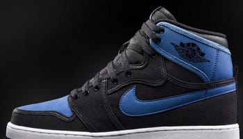 Air Jordan 1 Retro KO High OG Black/Black-Sport Blue