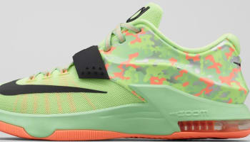 Nike KD VII Liquid Lime/Black-Vapor Green-Sunset Glow