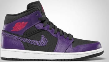 Air Jordan 1 Phat Mid Anthracite/Club Purple-Spark