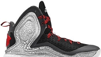 adidas D Rose 5 Boost Black/Scarlet-Carbon