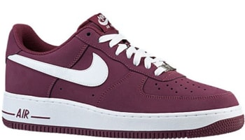 Nike Air Force 1 Low Cherrywood Red/White