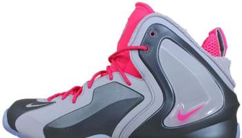 Nike Lil' Penny Posite Wolf Grey/Wolf Grey-Hyper Pink