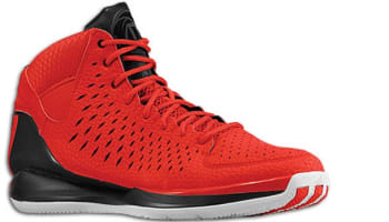 adidas Rose 3 Scarlet/Black-White