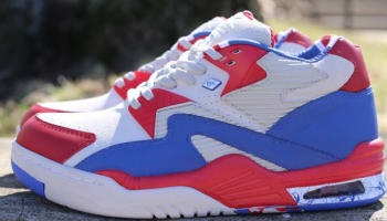 British Knights DRX Mono Mid White/Royal Blue-Mars Red