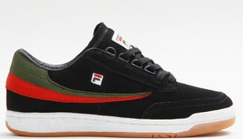Fila Original Tennis Black/Green-Fila Red