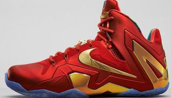 Nike LeBron 11 Elite SE University Red/Metallic Gold