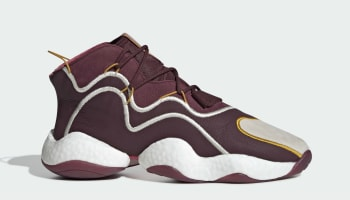 Eric Emanuel x Adidas Crazy BYW Maroon/Cream White/Real Pink