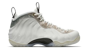 Nike Air Foamposite One Women's Summit White/Summit White-Oil Grey-Rainforest