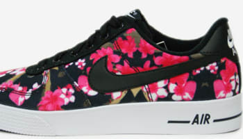 7f7d33b73250 Nike Air Force 1 AC GS Black Black-Hot Pink