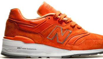 New Balance 997 Orange/White