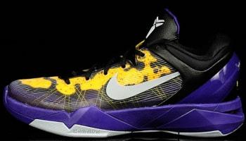 Nike Zoom Kobe 7 Poison Dart Frog Lakers