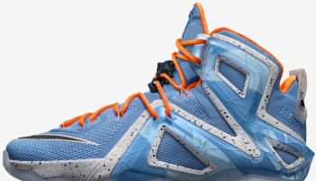 Nike LeBron 12 Elite Light Retro/Hot Lava-Artisan Teal-Sunset Glow