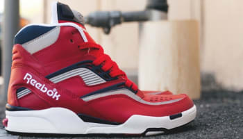 Reebok Twilight Zone Pump Red/Navy-Silver-White
