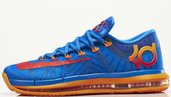 Nike KD VI Elite Photo Blue/Atomic Orange-Vivid Blue-Team Orange