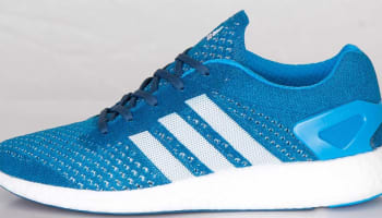 adidas Consortium Primeknit Pure Boost Solar Blue/Running White-Tribe Blue
