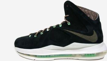 Nike LeBron X EXT Black Suede