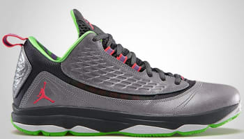 Jordan CP3.VI AE Wolf Grey/Bright Crimson-Dark Grey-Electric Green