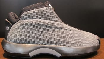 adidas Crazy 1 Black/Black-Metallic Silver