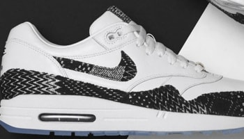 Nike Air Max 1 BHM White/Black-Metallic Gold