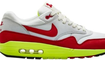 Nike Air Max 1 Premium QS Sail/University Red-Neutral Grey