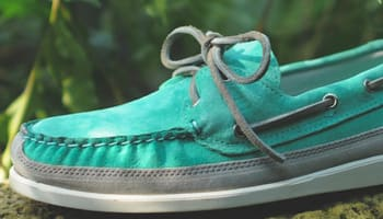 Sebago Schooner Mint/Grey