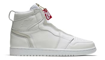 Air Jordan 1 Retro High Zip White/University Red