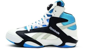 Reebok Shaq Attaq White/Black-Azure-Steel