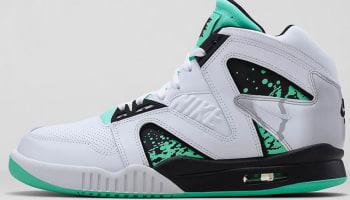 Nike Air Tech Challenge Hybrid White/Green Glow-Wolf Grey-Ice