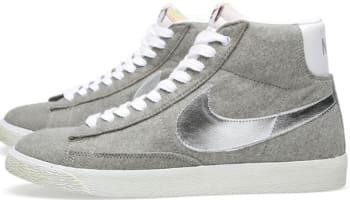 Nike Blazer Mid Premium VNTG Granite/Metallic Silver