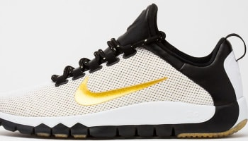 Nike Free Trainer 5.0 LE White/Metallic Gold-Black