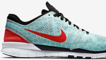 Nike Free 5.0 TR Fit 5 Print N7 Women's Hyper Turquoise/Black-White-Bright Crimson