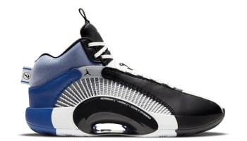 Fragment x Air Jordan 35 White/Black-Sport Blue